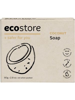 ECOSTORE Coconut Soap 80g
