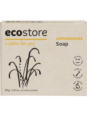 ECOSTORE Lemongrass Soap 80g