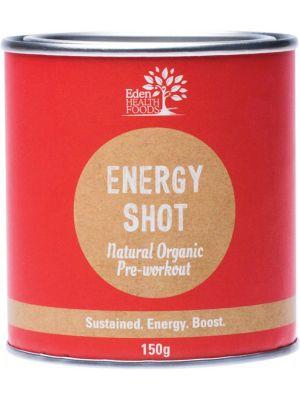 EDEN HEALTHFOODS Energy Shot Pre-Workout 150g