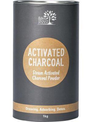 EDEN HEALTHFOODS Steam Activated Charcoal Powder 1kg