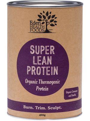 EDEN HEALTHFOODS Super Lean Protein Cinnamon & Vanilla 400g