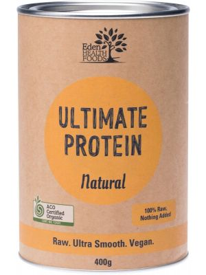 EDEN HEALTHFOODS Ultimate Protein Sprouted Brown Rice - Natural 400g