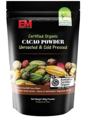 EM Superfoods Cacao Powder 500g