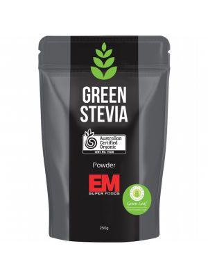 EM SUPERFOODS Green Stevia Leaf Powder 250g