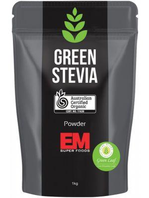 EM SUPERFOODS Green Stevia Leaf Powder 1kg