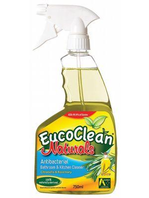 EUCOCLEAN Bathroom Kitchen Spray Citronella & Rosemary 750ml