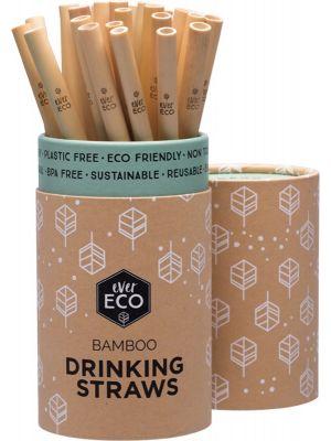 EVER ECO Bamboo Straws Counter Display 30