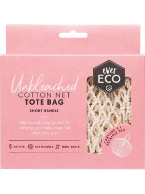 EVER ECO Tote Bag Cotton Net - Short Handle 1