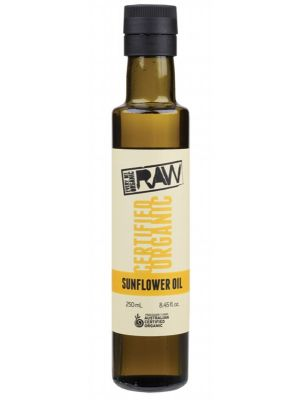 Every Bit Organic Raw Sunflower Oil Unrefined 250ml