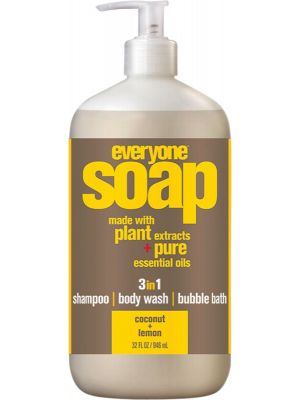 EVERYONE 3 In 1 Soap Coconut + Lemon 946ml