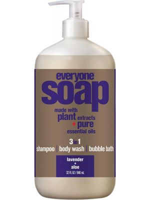 EVERYONE 3 In 1 Soap Lavender + Aloe 946ml
