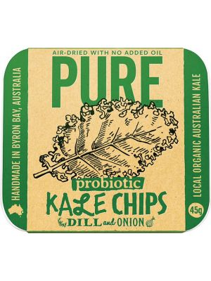 EXTRAORDINARY FOODS Dill & Onion Kale Chips 45g