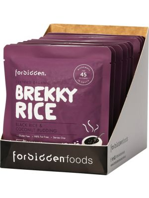 FORBIDDEN Brekky Rice Black Rice & Coconut Pudding 10x125g