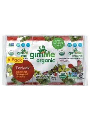 GIMME Seaweed Snacks Teriyaki 6x5g