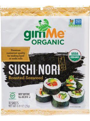 GIMME Roasted Seaweed Sushi Nori (10 Sheets) 23g