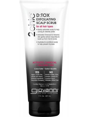 GIOVANNI Exfoliating Scalp Scrub - 2chic D:tox 207ml