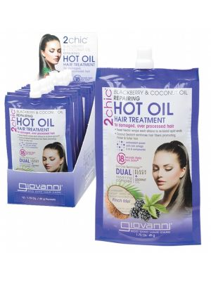 GIOVANNI Hot Oil Hair Treatment Blackberry & Coconut 49g