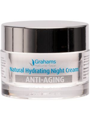 GRAHAMS NATURAL Anti-Aging Night Cream With Coffee Extract 50ml