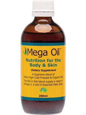 GRAHAMS NATURAL Mega Oil For The Body And Skin 200ml