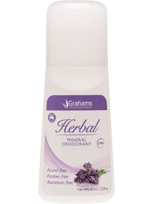GRAHAMS NATURAL Mineral Deodorant Herbal 65ml