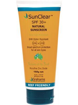GRAHAMS NATURAL Natural Suncreen SPF 30+ 2HR Water Resistant 150g