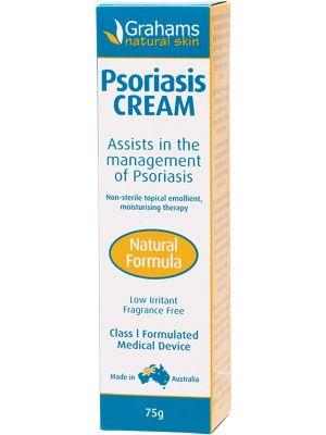 GRAHAMS NATURAL Psoriasis Cream Natural Formula 75g