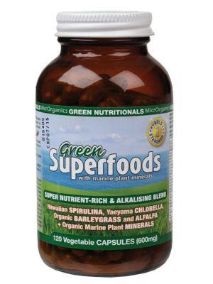 Green Nutritionals Green Capsules 120 caps