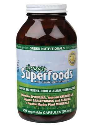 Green Nutritionals Green Superfoods Capsules 250 caps