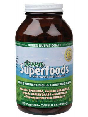 Green Nutritionals Green Capsules 250 caps
