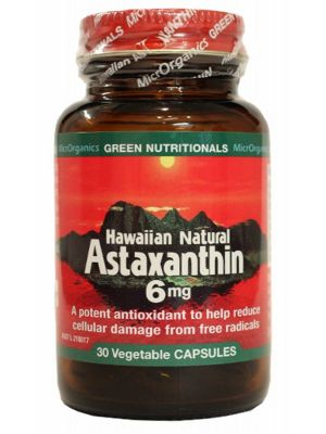 GREEN NUTRITIONALS Astaxanthin Capsules 30