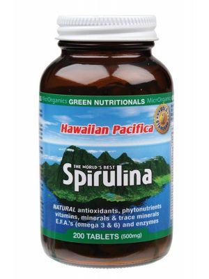 Green Nutritionals Spirulina Tablets 200 tabs