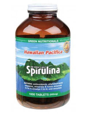 Green Nutritionals Spirulina Tablets 1000 tabs