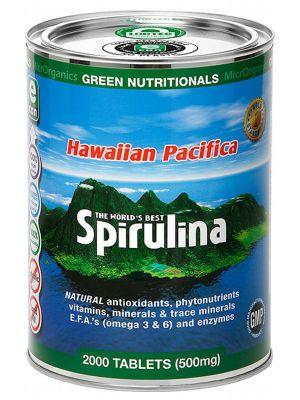GREEN NUTRITIONALS Spirulina Tablets 2000