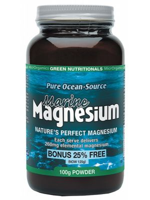 GREEN NUTRITIONALS Magnesium Powder 100g