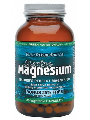 GREEN NUTRITIONALS Magnesium Capsules 60