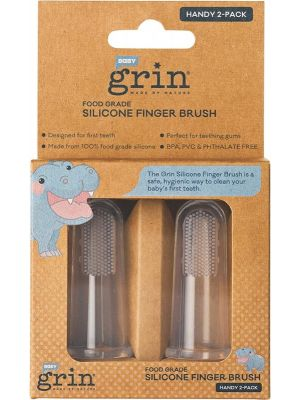 GRIN Silicone Finger Brush 2 Pack - Box Of 8 8
