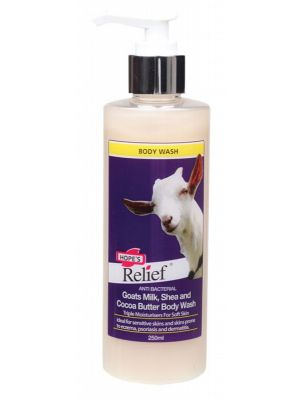 HOPE'S RELIEF Goats Milk Body Wash 250ml