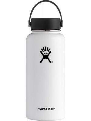 HYDRO FLASK Wide Mouth - Flex Cap Double Insulated - White 946ml