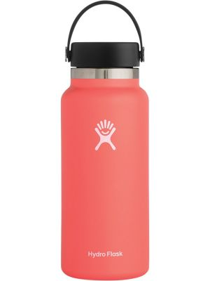 HYDRO FLASK Wide Mouth - Flex Cap Double Insulated - Hibiscus 946ml