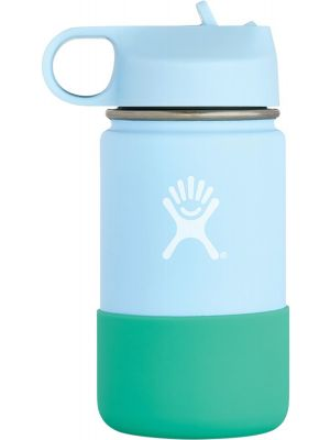 HYDRO FLASK Wide Mouth Kids - Straw Lid Double Insulated - Frost 355ml