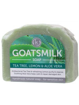 Harmony Soapworks Tea Tree Goat's Milk Soap 140g