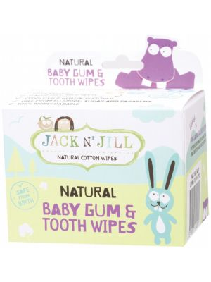 JACK N' JILL Baby Gum & Tooth Wipes 25