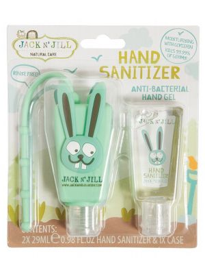 JACK N' JILL Hand Sanitizer & Holder Bunny 29ml