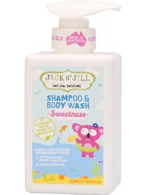 JACK N' JILL Shampoo & Body Wash Sweetness 300ml