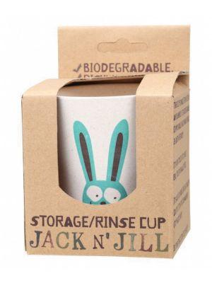 JACK N' JILL Storage Rinse Cup Bunny 1