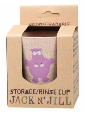 JACK N' JILL Storage Rinse Cup Hippo 1