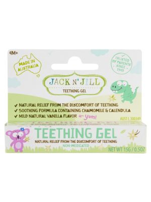 JACK N' JILL Teething Gel 4 Months + 15g