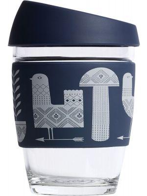 JOCO Reusable Glass Cup Artist Series 12oz - Adrian Knott 354ml