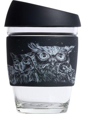 JOCO Reusable Glass Cup Artist Series 12oz - Jen Lobo 354ml