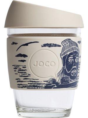 JOCO Reusable Glass Cup Artist Series 12oz - Lars Huse 354ml
